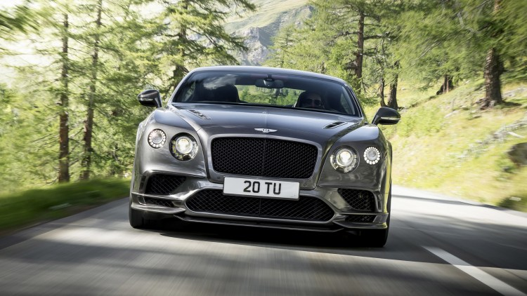 The new Continental GT Supersports is the most powerful Bentley