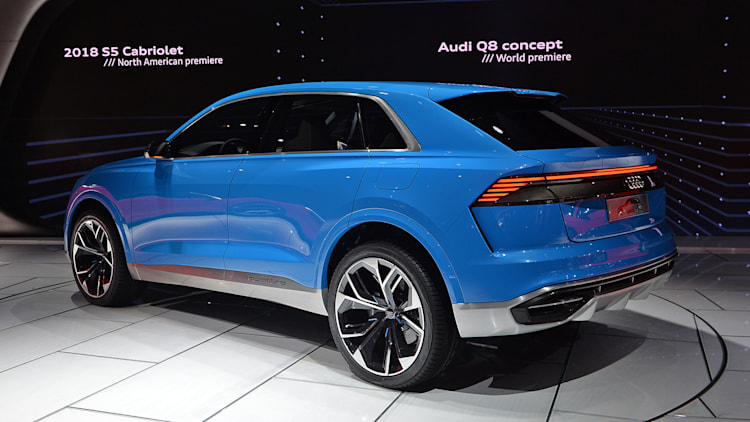 Audi's Q8 Concept previews a 2018 personal luxury crossover - Autoblog