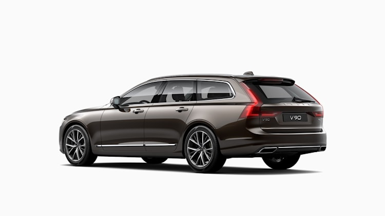 Volvo V90 Inscription in Maple Brown Metallic