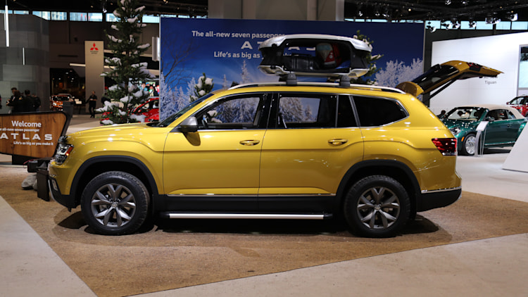 The Volkswagen Atlas Weekend Edition Concept is aimed at ...
