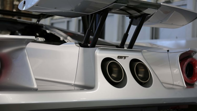 Ford GT Competition Series wing