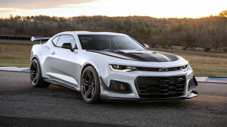 Behold the 2018 Camaro ZL1 1LE the most hardcore of Camaros