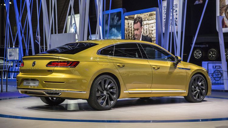 The VW Arteon is the CC sedan's really good-looking successor ...
