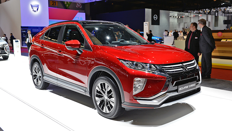 2018 Mitsubishi Eclipse Cross: Geneva 2017 Photo Gallery - Autoblog