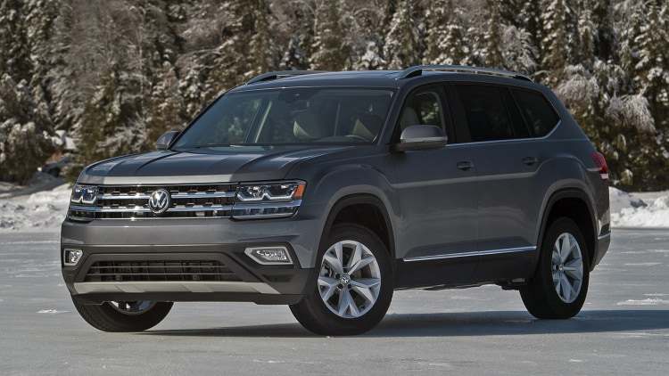volkswagen atlas  drive photo gallery autoblog