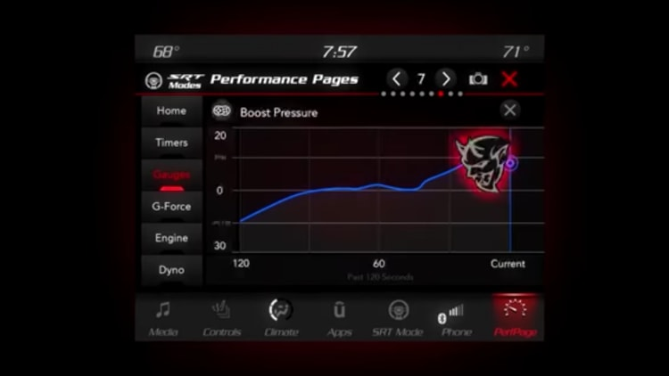 2018 Dodge Challenger SRT Demon Performance Pages Photo Gallery ...