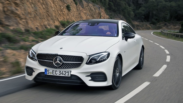 2018 mercedes benz e class coupe first drive photo for Mercedes benz 2018 models