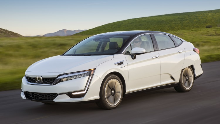 Creative 2017 Honda Clarity Fuel Cell First Drive Photo Gallery
