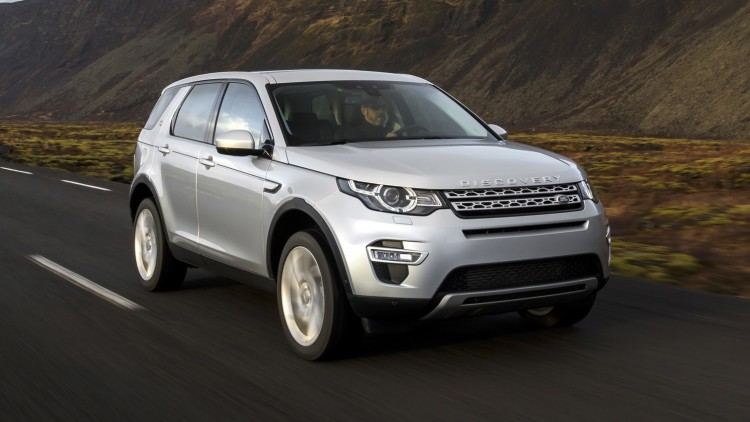 Luxury Compact SUV: Land Rover Range Rover Discovery Sport