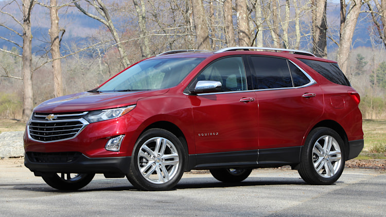 Aspiration And Evolution 2018 Chevrolet Equinox First