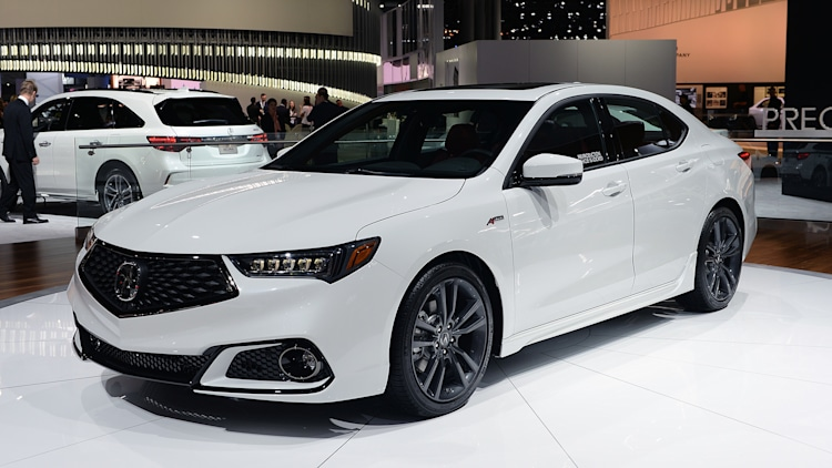 2018 Acura TLX A-Spec: New York 2017 Photo Gallery - Autoblog