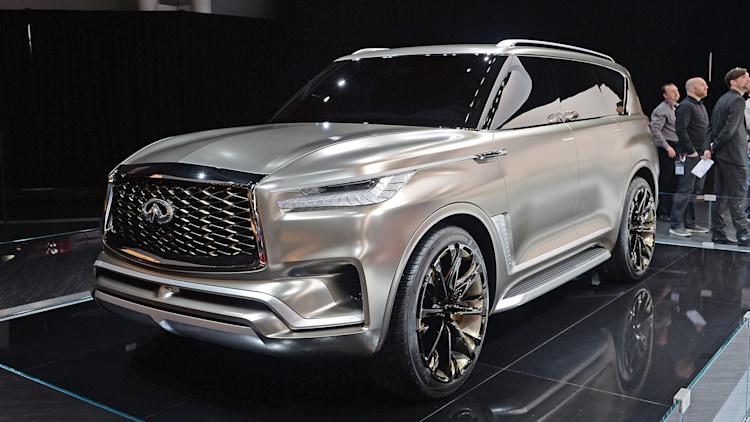 Infiniti QX80 Monograph: Not just luxury, 'upscale luxury ...