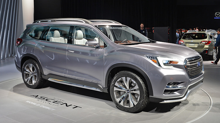 subaru ascent suv concept new york 2017 photo gallery autoblog. Black Bedroom Furniture Sets. Home Design Ideas