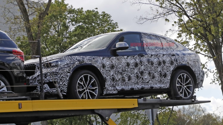Here S Your First Look At The New 2018 Bmw X4 Autoblog