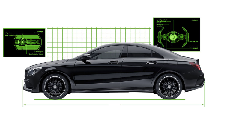 Mercedes benz japan is selling a cla 180 star wars edition for Mercedes benz japan