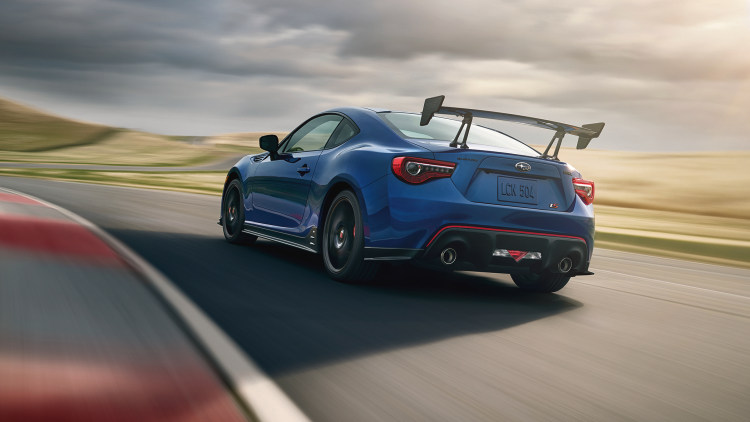 Subaru BRZ tS is Built for the Corners, Not the Straights