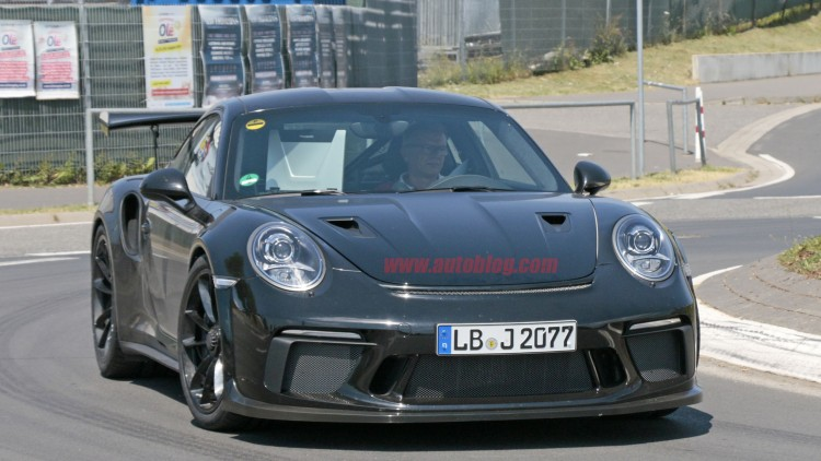 Porsche 911 GT2 RS launched at 2017 Goodwood FoS