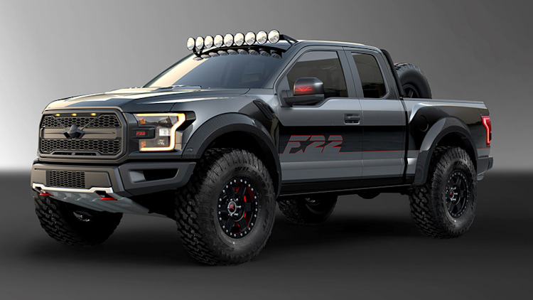 Fighter Jet-Inspired Ford F-150 Raptor Boasts 545 HP, Wilder Looks