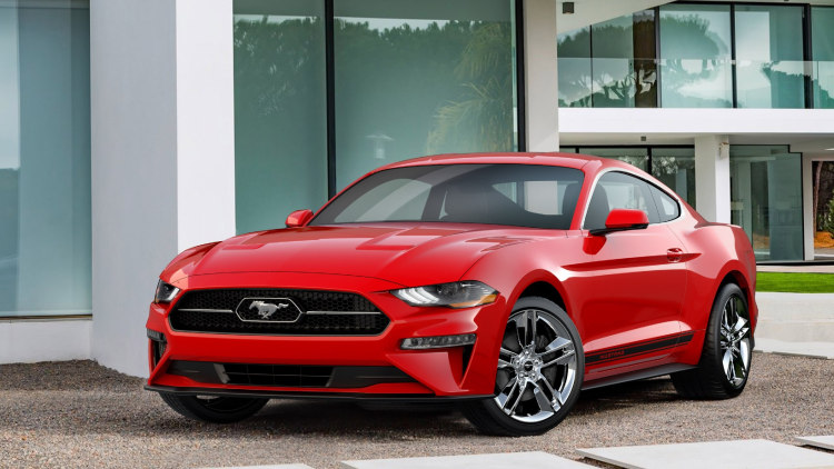 Ford Mustang has a… Pony Pack