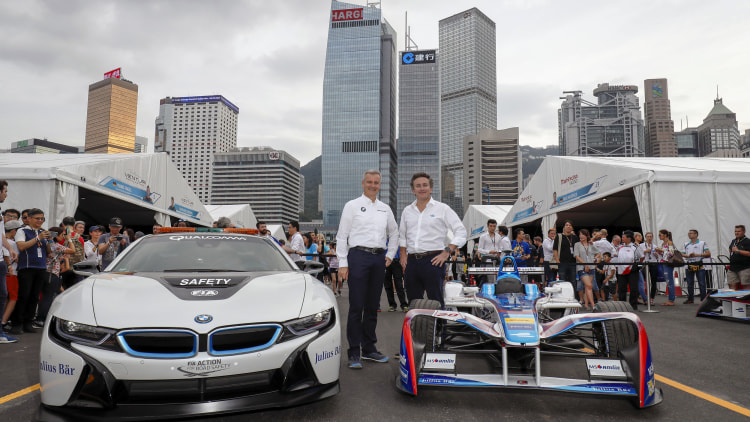 BMW to join Formula E in 2018