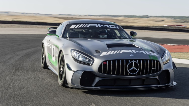 Mercedes-AMG GT4 - entry-level race auto unveiled