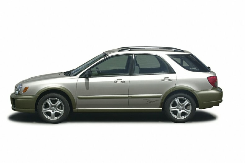 2002 Subaru Impreza Outback Sport Exterior Photo