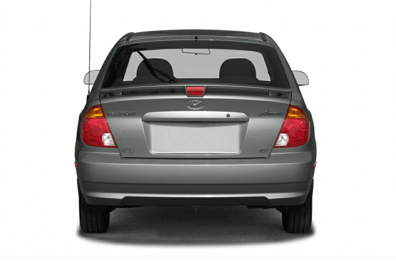 2003 Hyundai Accent Exterior Photo