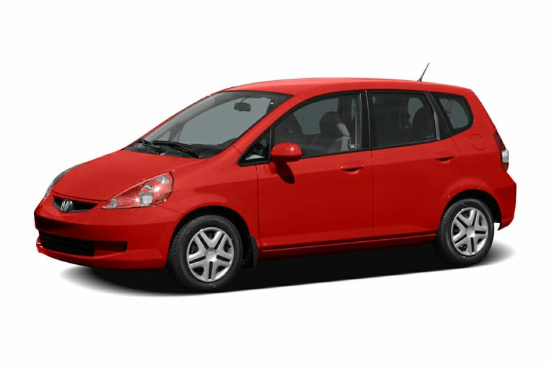 2007 Honda Fit Exterior Photo