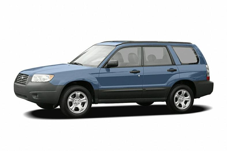 2007 Subaru Forester Exterior Photo