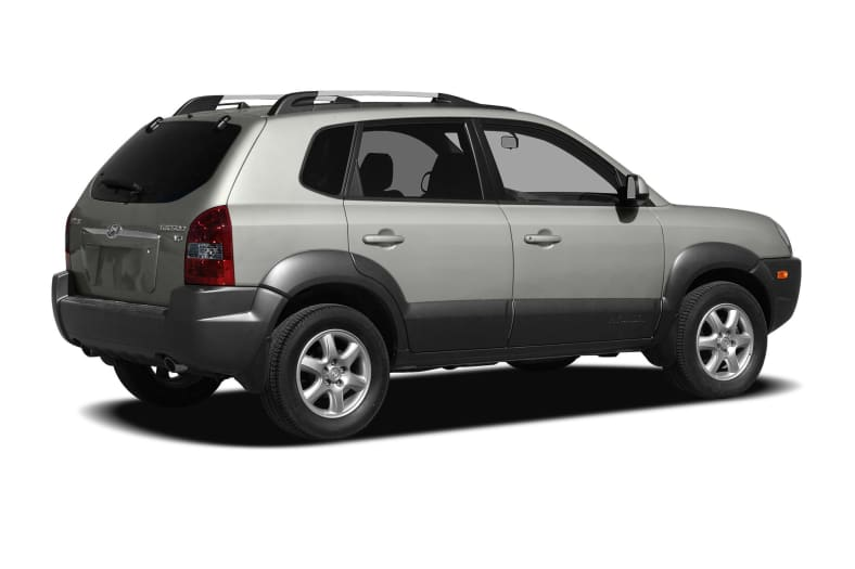 2008 Hyundai Tucson Exterior Photo