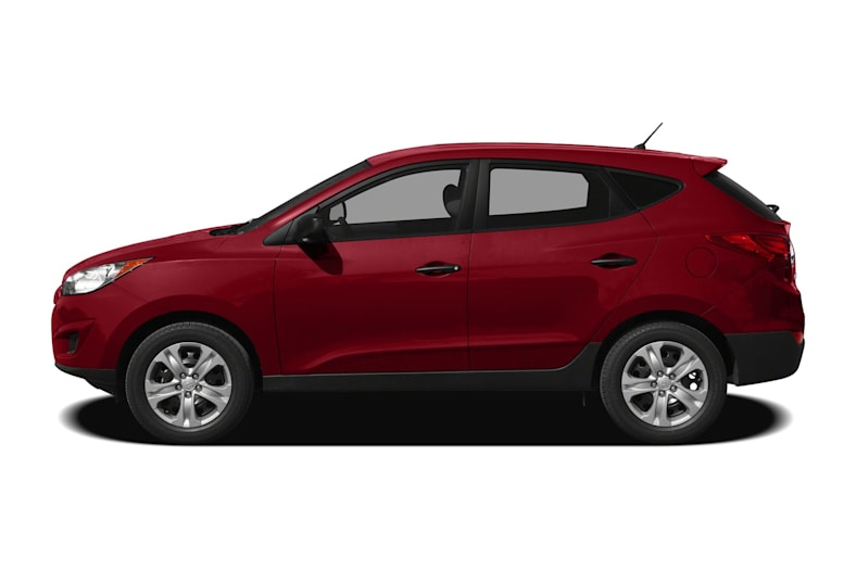 2010 Hyundai Tucson Exterior Photo