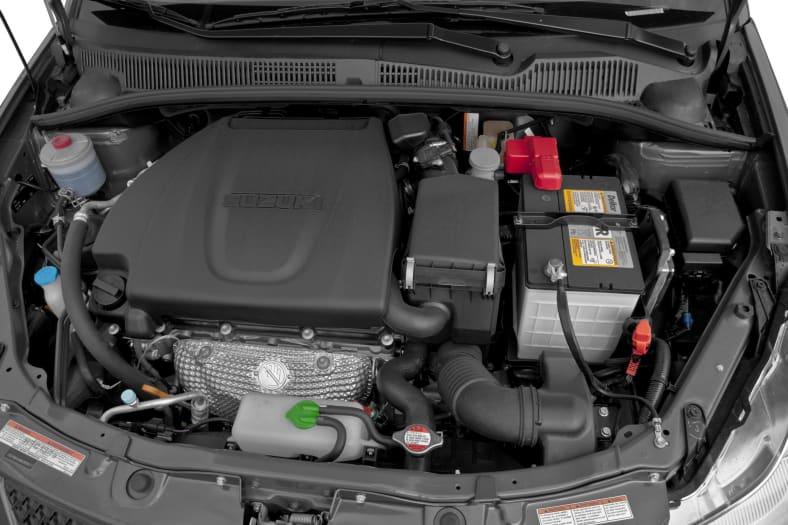 2011 Suzuki SX4 Exterior Photo