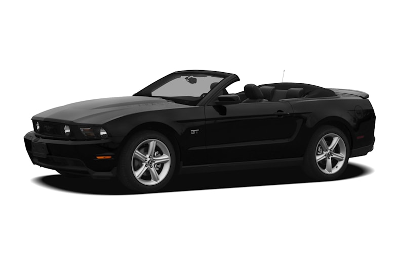 2012 Ford Mustang V6 2dr Convertible Information