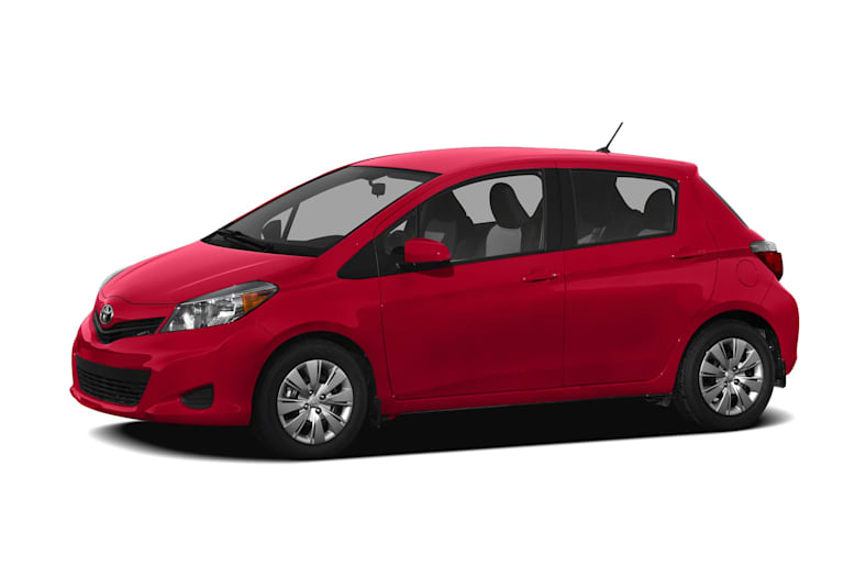 2012 Toyota Yaris Exterior Photo