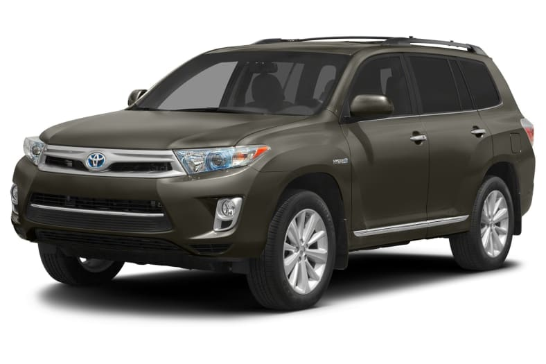 2012 Toyota Highlander Hybrid Exterior Photo