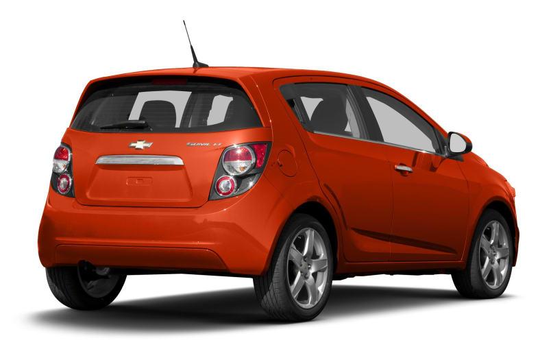 2013 Chevrolet Sonic Exterior Photo