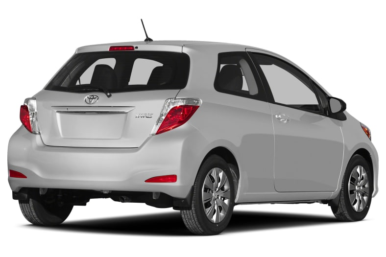 2013 Toyota Yaris Exterior Photo