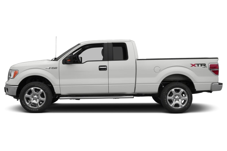 2014 Ford F150 XLT 4x4 SuperCab Styleside 8 ft box 163 in WB