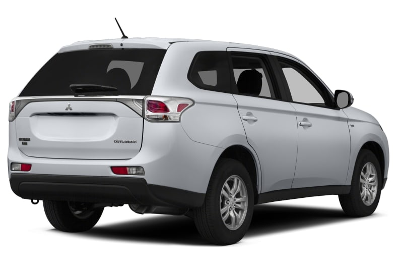 2014 Mitsubishi Outlander Exterior Photo