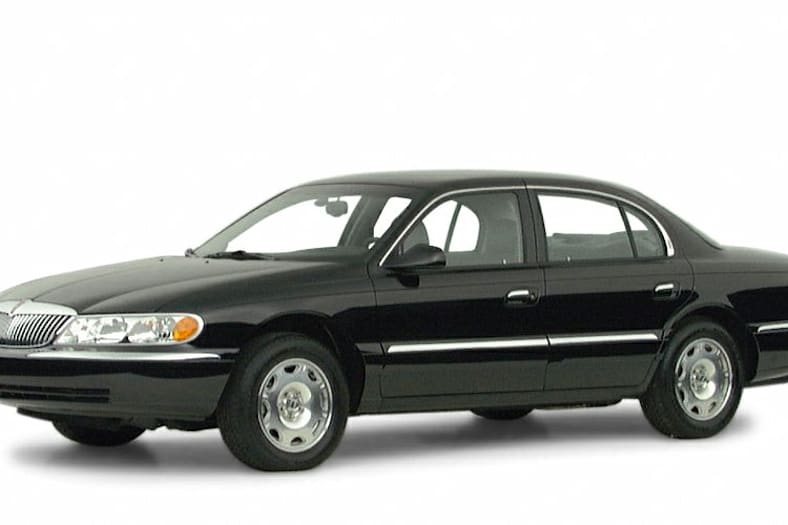 2001 Lincoln Continental Exterior Photo