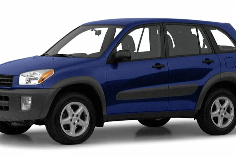 2001 Toyota RAV4 Exterior Photo