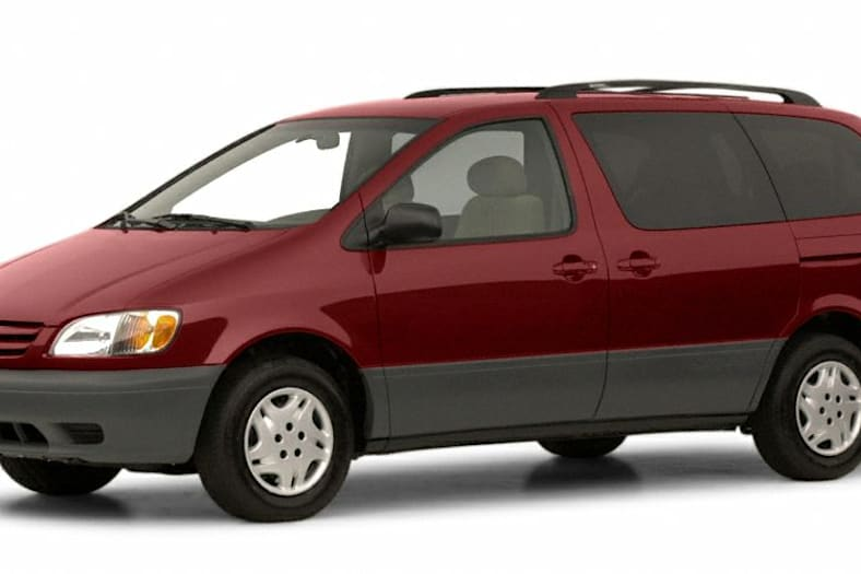 2001 Toyota Sienna Exterior Photo