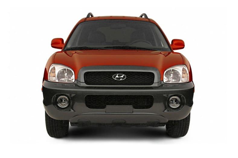 2002 Hyundai Santa Fe Exterior Photo