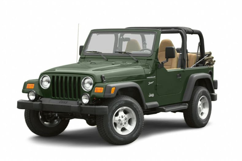 2002 Jeep Wrangler Exterior Photo