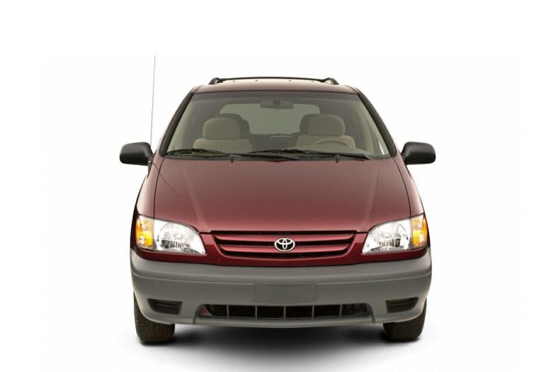 2002 Toyota Sienna Exterior Photo