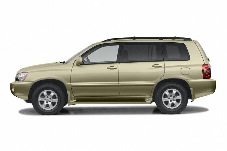 2003 Toyota Highlander Exterior Photo