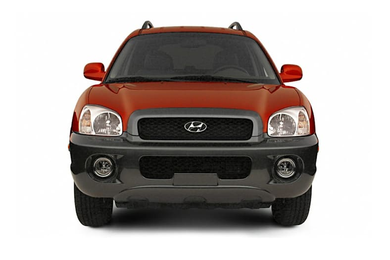 2004 Hyundai Santa Fe Exterior Photo