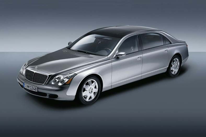 2005 Maybach 62 Exterior Photo
