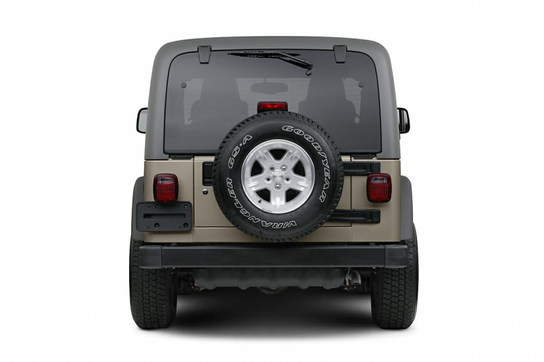 2006 Jeep Wrangler Exterior Photo