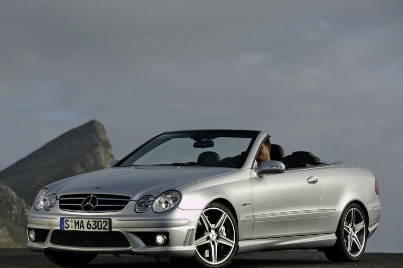 2007 Mercedes-Benz CLK-Class Exterior Photo